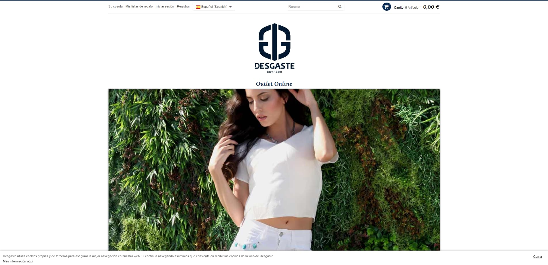 Desgaste Shop - Outlet online