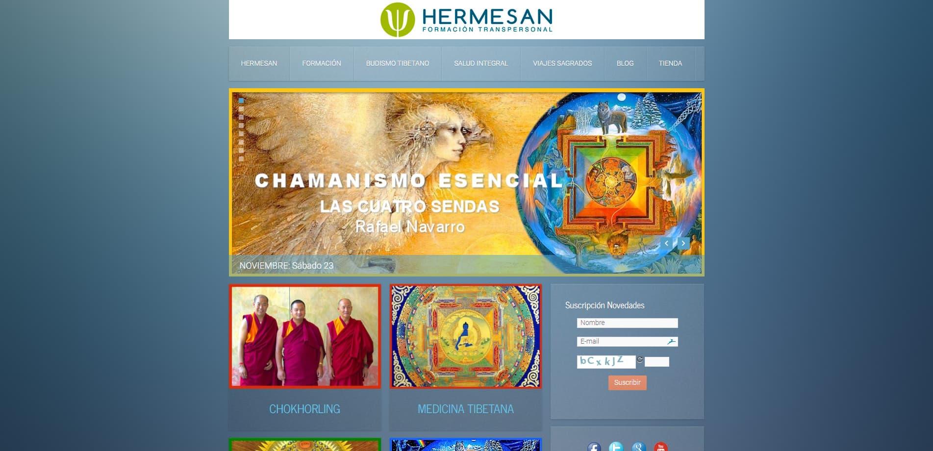 Hermesan Psicología Transpersonal, Espagiria y Medicina Tradicional Tibetana
