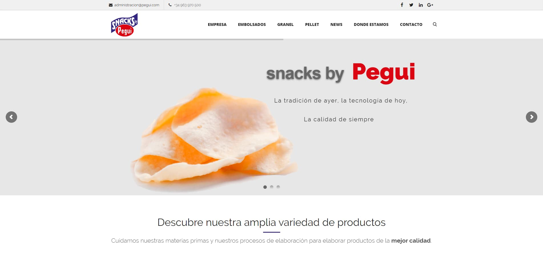 Pegui Snacks by Pegui