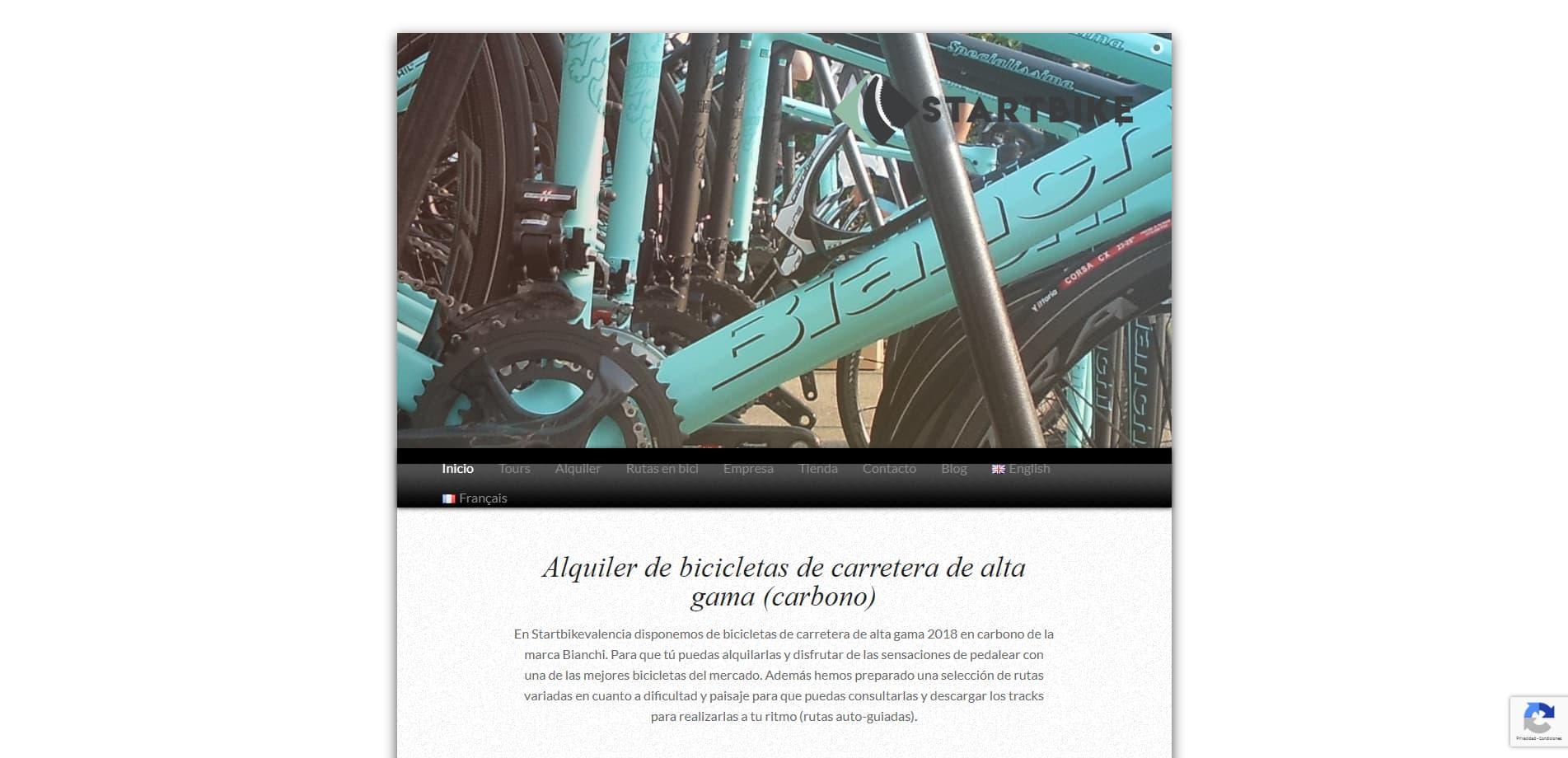 Startbikevalencia - Alquiler Bicicicletas Valencia