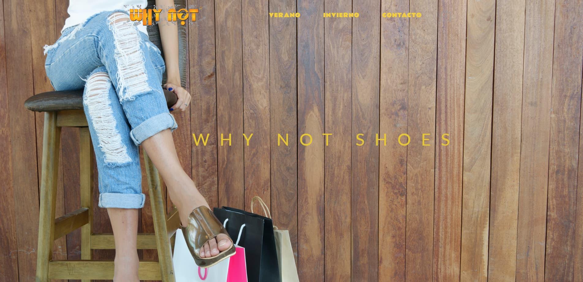 Whynotshoes 100 FABRICADO en España