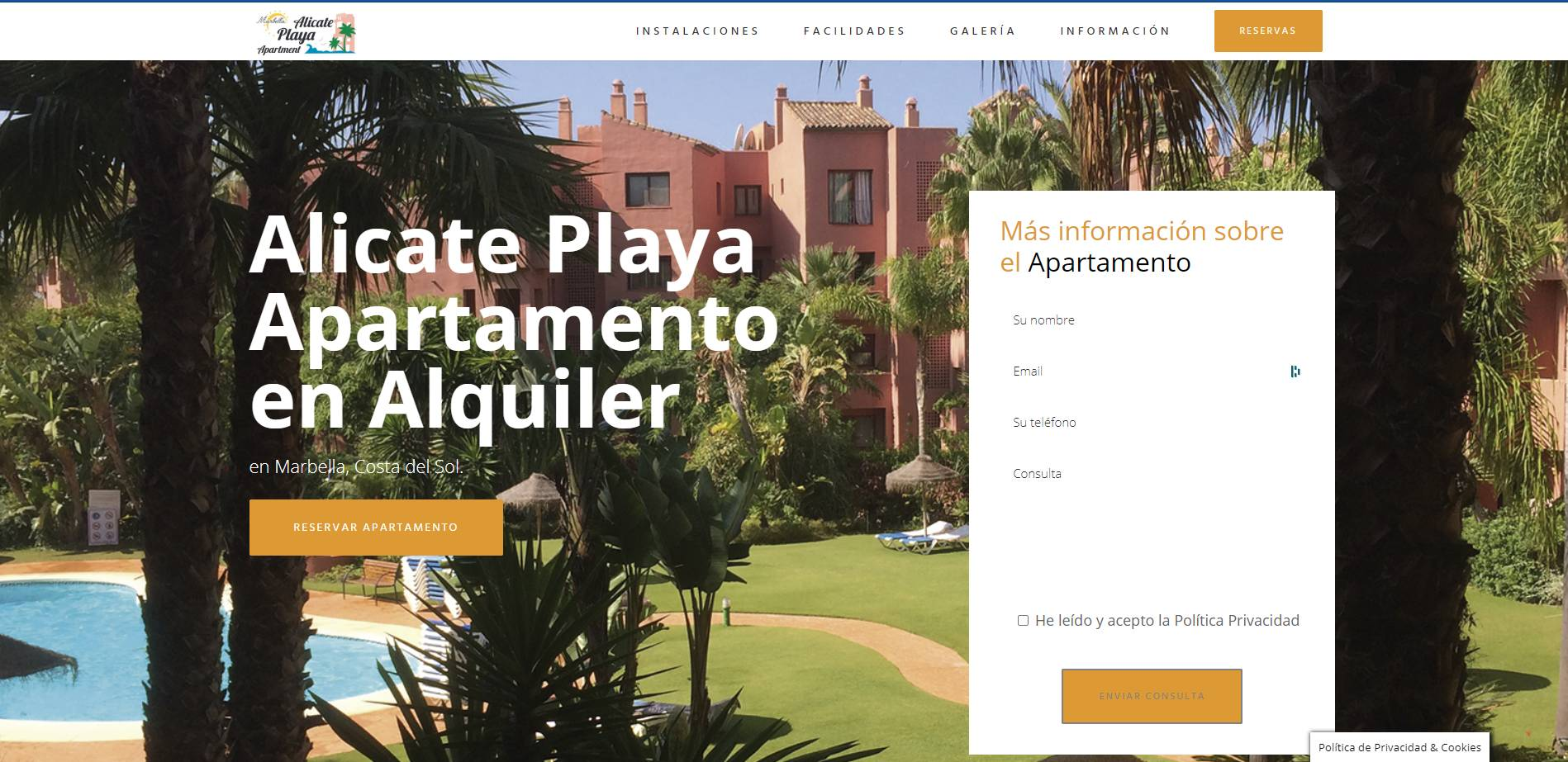 Alicate Playa Apartamento